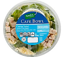 Signature Farms Cafe Bowl Chicken Caesar Salad - 6.25 Oz