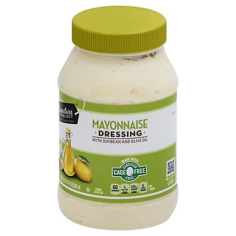 Signature SELECT Dressing Mayonnaise with Extra Virgin Olive Oil - 30 Fl. Oz.