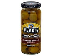 Musco Family Olive Co. Pearls Specialties Olives Queen Stuffed Jalapeno - 7 Oz
