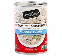 Signature SELECT Soup Condensed 50% Reduced Sodium Cream of Mushroom - 10.5 Oz