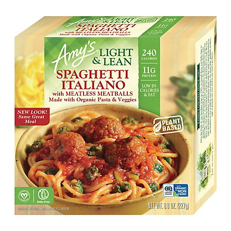 Amys Light & Lean Spaghetti Italiano - 8 Oz