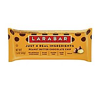 Larabar Food Bar Fruit & Nut Peanut Butter Chocolate Chip - 1.6 Oz
