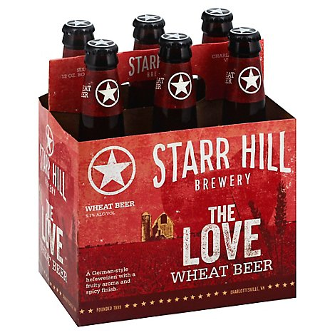 Starr Hill Love Ale Bottles - 6-12 Fl. Oz.