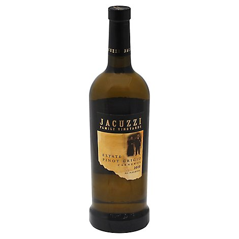 Jacuzzi Estate Pinot Grigio Wine - 750 Ml