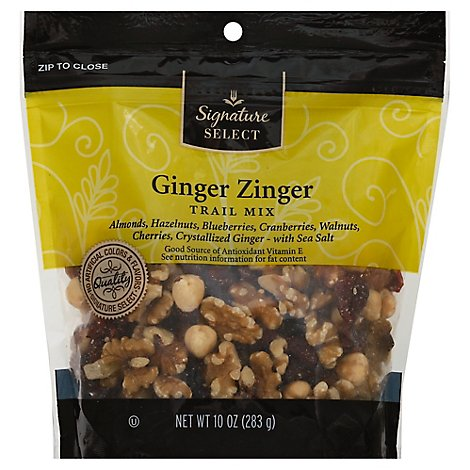 Signature SELECT Ginger Zinger Trail Mix - 10 Oz
