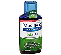 Mucinex Fast-Max DM Max Liquid Medicine Cough Relief Maximum Strength - 6 Fl. Oz.
