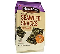 Annie Chuns Roasted Seaweed Snacks Sesame - .35 Oz