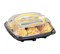 Almark Foods Deviled Eggs Gourmet Relish Flavor - 6 Count