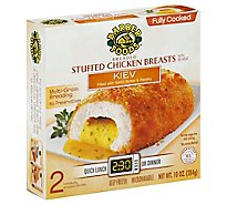 Barber Chicken Breast Stuffed Kiev Fully Cooked - 2-5 Oz