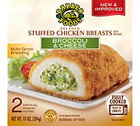 Barber Chicken Breast Stuffed Brocolli & Cheese Fully Cooked - 2-5 Oz