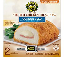 Barber Chicken Breast Stuffed Cordon Bleu Fully Cooked - 2-5 Oz