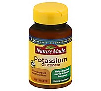 Nature Made Potassium Gluconate 550 Mg - 100 Count