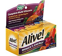 Natures Way Alive Womens Energy - 50 Count