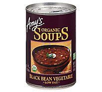 Amys Soups Organic Low Fat Black Bean Vegetable - 14.5 Oz