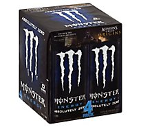 Monster Energy Drink Absolutely Zero - 4-16 Fl. Oz.