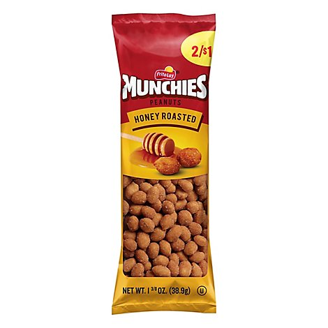 MUNCHIES Peanuts Honey Roasted - 1.375 Oz