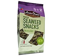 Annie Chuns Seaweed Snacks Roasted Wasabi Hot - 0.35 Oz