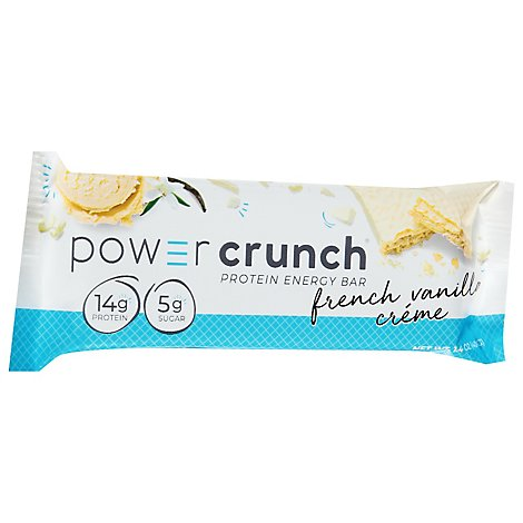 Power Crunch Energy Bar Protein French Vanilla Creme - 1.4 Oz