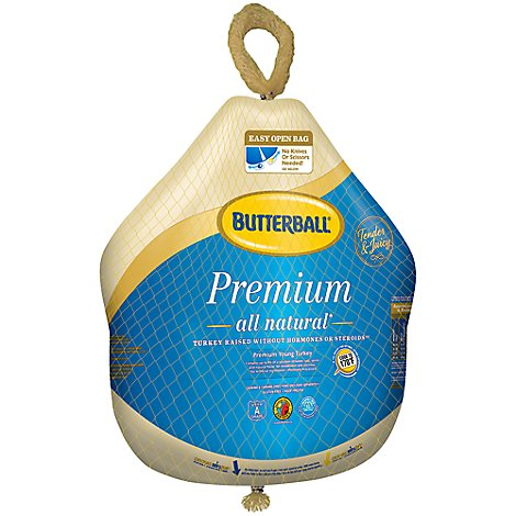 Butterball Frozen Whole Turkey - Weight Between 16-20 Lbs.