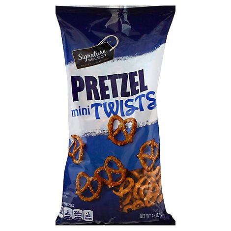 Signature SELECT Pretzel mini Twists Bag - 13 Oz