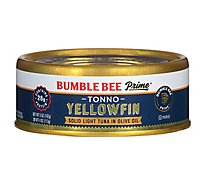 Bumble Bee Prime Fillet Tuna Tonno Solid Light in Olive Oil - 5 Oz