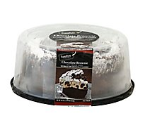 Signature SELECT Ice Cream Cake Chocolate Brownie 8 Inch - 40 Oz
