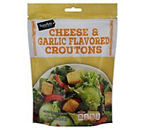 Signature SELECT Croutons Cheese & Garlic - 5 Oz