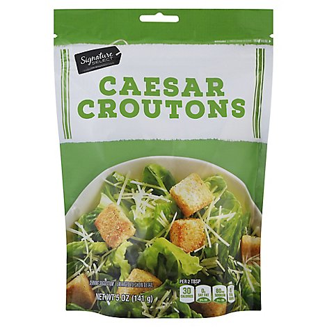 Signature SELECT Croutons Caesar - 5 Oz
