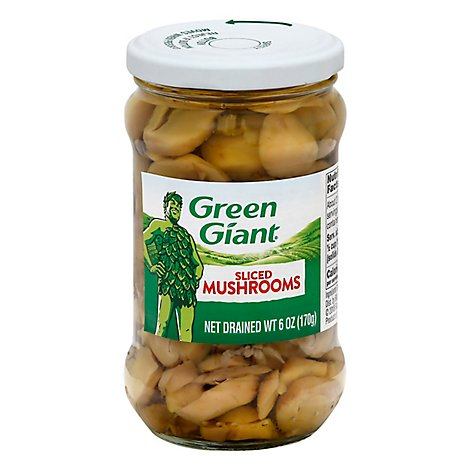 Green Giant Mushrooms Sliced - 6 Oz