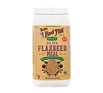 Bobs Red Mill Flaxseed Meal Golden 100% Whole Ground - 16 Oz