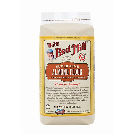 Bobs Red Mill Almond Meal Flour Finely Ground - 16 Oz