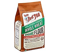 Bobs Red Mill Flour Whole Wheat Organic - 5 Lb