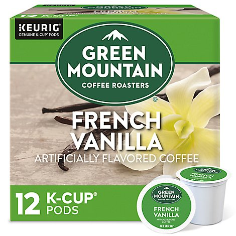 Green Mountain Coffee Roasters Coffee K Cup Pods French Vanilla - 12-0.33 Oz