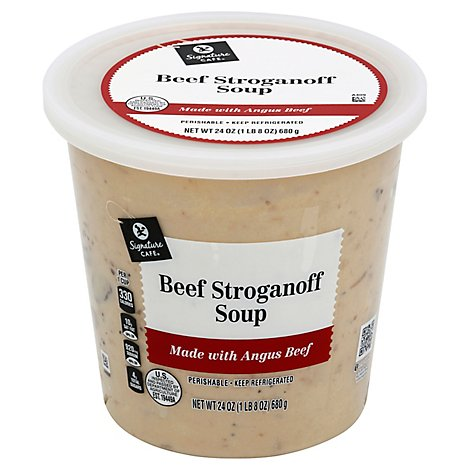 Signature Cafe Beef Stroganoff Soup - 24 Oz.