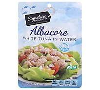 Signature SELECT White Albacore Tuna In Water Pouch - 2.6 Oz