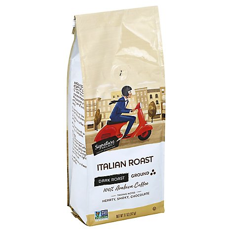 Signature SELECT Coffee Ground Dark Roast Italian Roast - 11 Oz