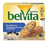 belVita Breakfast Biscuits Blueberry - 5-1.76 Oz