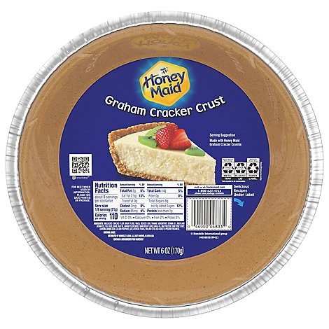 Honey Maid Graham Cracker Crust - 6 Oz