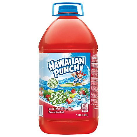 Hawaiian Punch Fruit Berry Limeade Blast - 128 Fl. Oz.