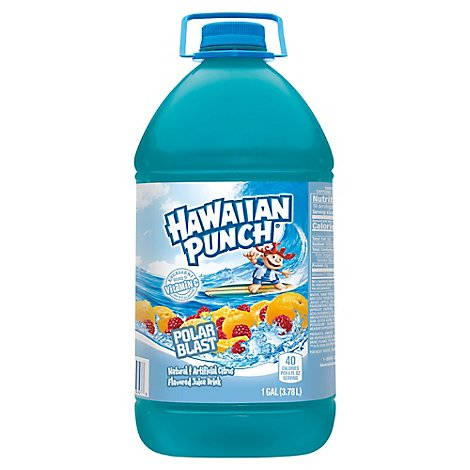 Hawaiian Punch Citrus Fruit Polar Blast - 128 Fl. Oz.