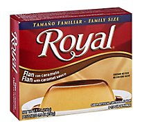 Royal Flan with Caramel Sauce - 5.5 Oz