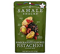 Sahale Snacks Snack Better Pistachios Glazed Mix Naturally Pomegranate Flavored - 4 Oz