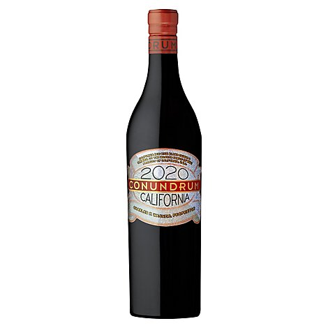 Conundrum Wine Red Blend - 750 Ml