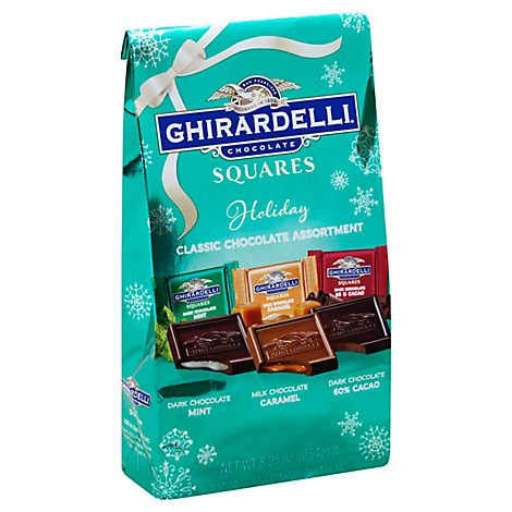 Ghirardelli Squares Favorites Assorted - 8.95 Oz