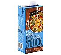 Signature SELECT Cooking Stock Unsalted Chicken - 32 Oz