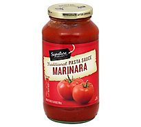 Signature SELECT Pasta Sauce Marinara Jar - 25 Oz