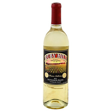 Ruby Hill Rsv Sauvignon Blanc Wine - 750 Ml
