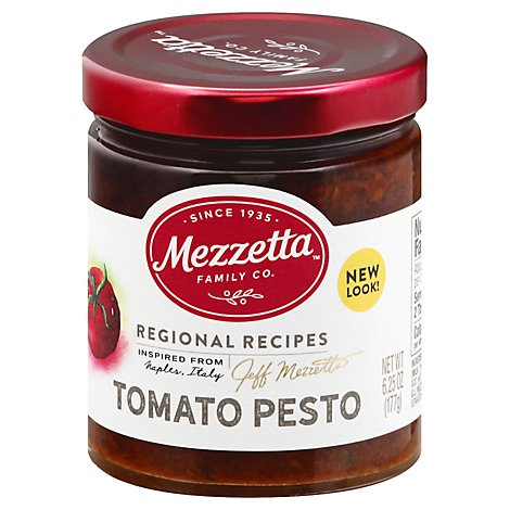 Mezzetta Napa Valley Bistro Pesto Sun Ripened Dried Tomato Jar - 6.25 Oz