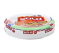 SOLO Plates Paper Heavy Duty 8.5 Inch Bag - 44 Count