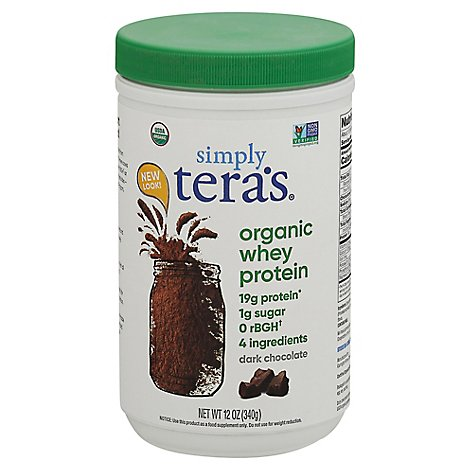 Teraswhey Dark Chocolate - 12 Oz